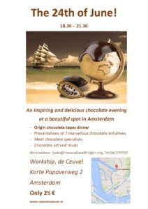Chocolateevening 24 juni de ceuvel