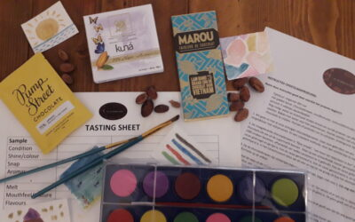 ONLINE chocolate tastings